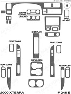 2000 Nissan Xterra Dash Kit Shadow Sheet