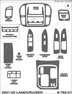 2002 Toyota Landcruiser Dash Kit Shadow Sheet