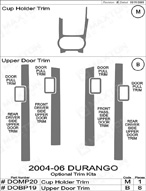 2006 Dodge Durango Dash Kit Shadow Sheet
