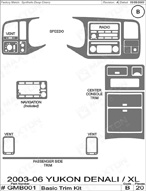 2004 GMC Yukon_Denali Dash Kit Shadow Sheet