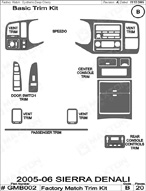 2006 GMC Sierra_Denali Dash Kit Shadow Sheet