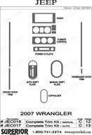 2007 Jeep Wrangler_JK Dash Kit Shadow Sheet