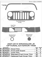 2014 Jeep Wrangler_JK Dash Kit Shadow Sheet
