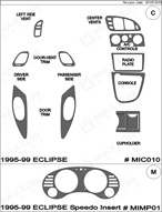 1999 Mitsubishi Eclipse Dash Kit Shadow Sheet